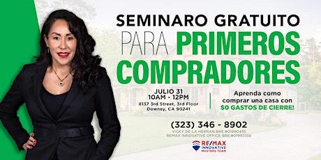 SEMINARIO GRATUITO PARA PRIMEROS COMPRADORES tickets
