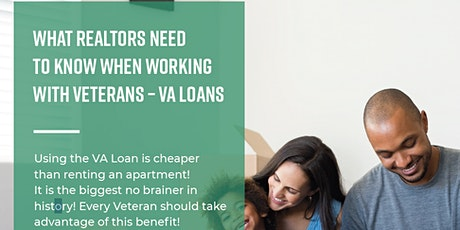 Working with Veterans - What you need to know about VA Loans tickets