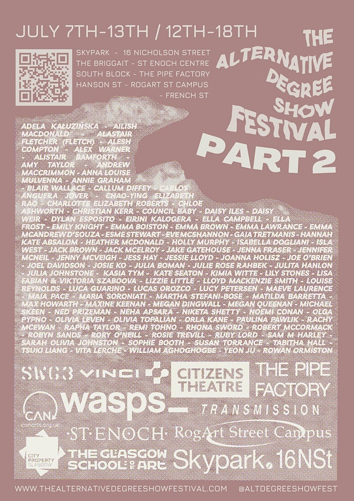 The Alternative Degree Show Festival  Part 2 @ French Street image