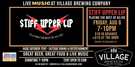 Still Upper Lip - A Tribute to AC/DC @Village Brewing Company! tickets