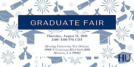 New Orleans Graduate Fair tickets