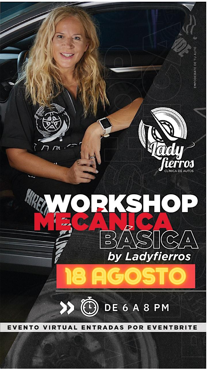 Imagen de Workshop MECÁNICA BÁSICA DEL AUTO para que salgas confiada a la ruta