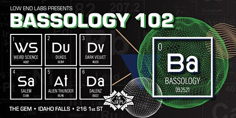 Bassology 102 tickets
