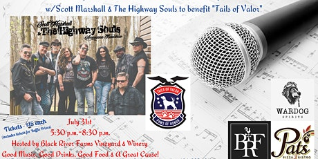 Scott Marshall & The Highway Souls to benefit TAILS OF VALOR tickets