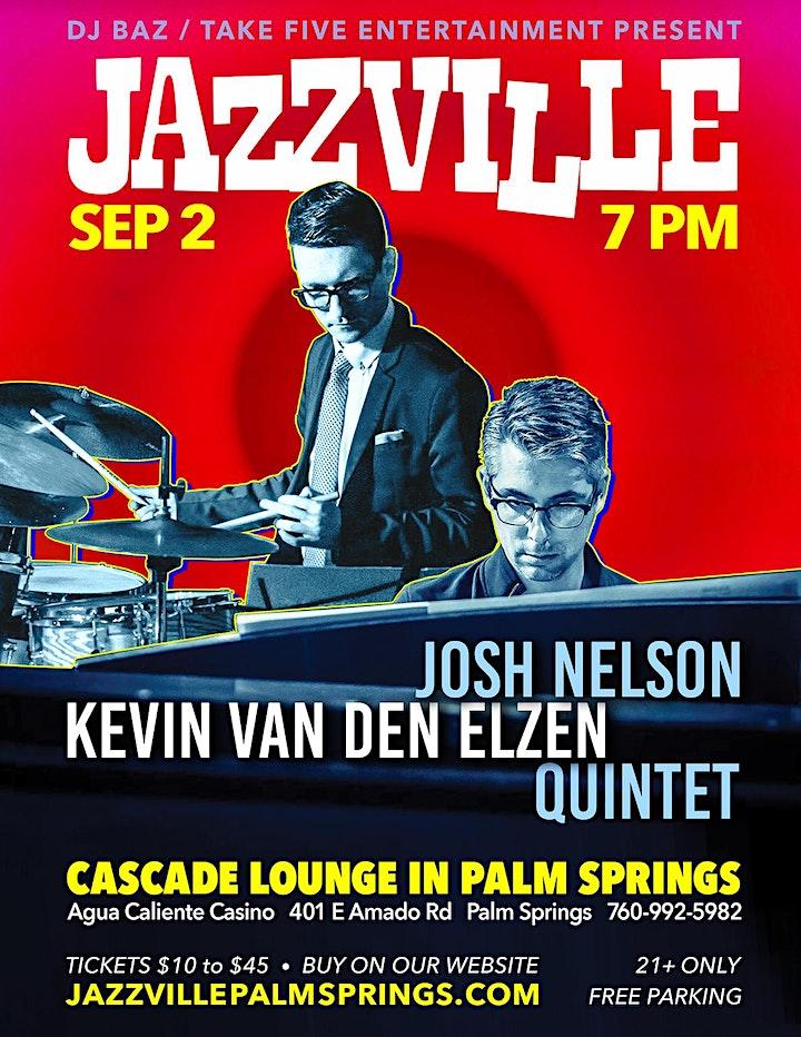 Josh Nelson & Kevin van den Elzen Quintet image