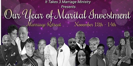 """""""2021 It Takes 3 Marriage Retreat"""" tickets"""