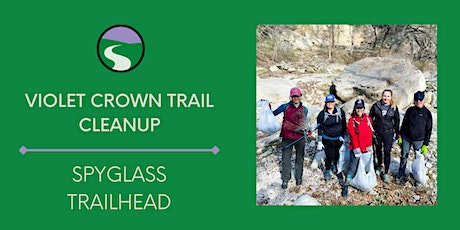 Violet Crown Trail Cleanup at the Spyglass Trailhead tickets