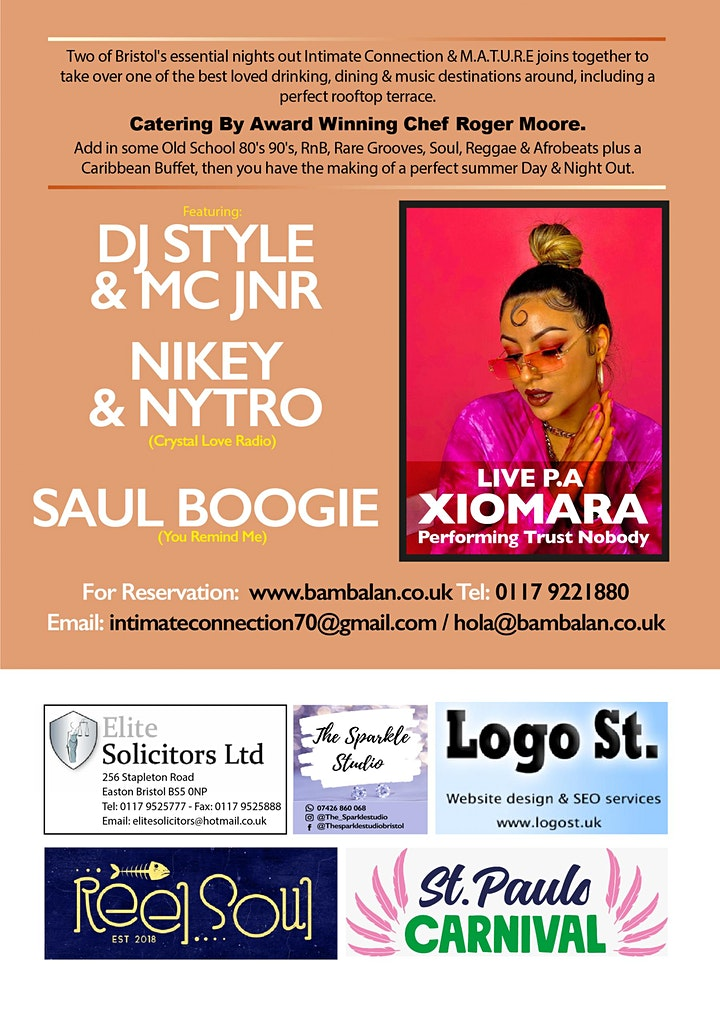 M.A.T.U.R.E & Intimate Connection Present The Rooftop Terrace Alldayer image