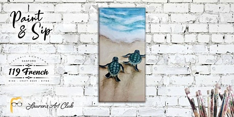 Baby Turtle Painting DIY - Paint & Sip tickets