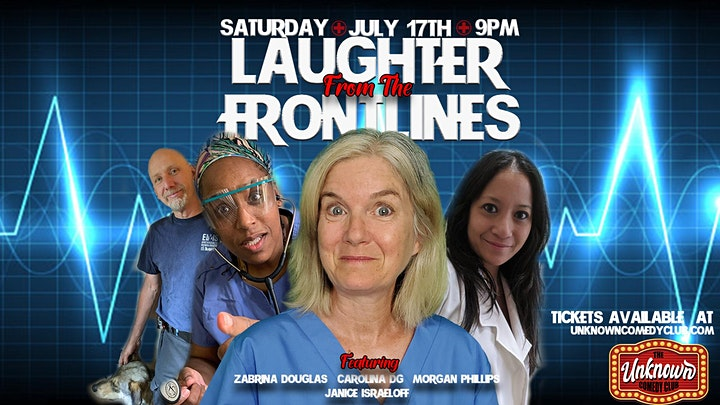 UCC Presents: Laughter From The Frontlines image