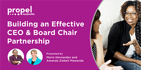 Building an Effective CEO + Board Chair Partnership tickets