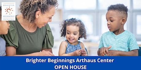 Open House: Brighter Beginnings Oakland Artthaus Center tickets