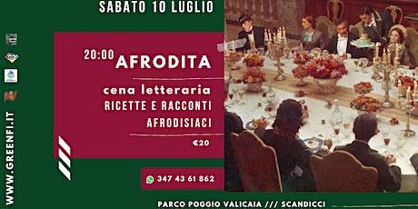 AFRODITA | cena letteraria biglietti