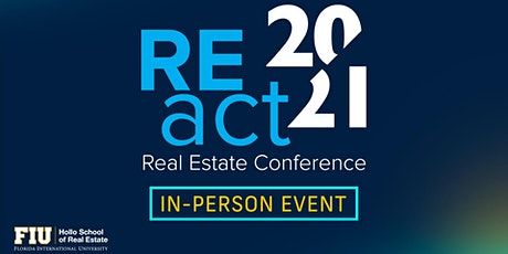 REact 2021 Conference tickets
