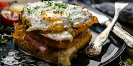 Online Class: Cafe Cuisine: French Onion Soup & Croque Monsieur tickets