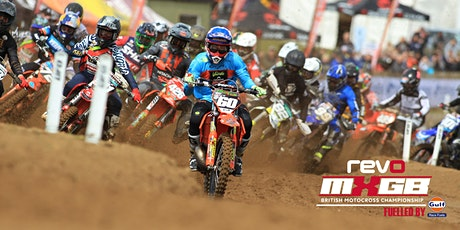Revo ACU British Motocross Championship fuelled by Gulf Race Fuels - Rd 5 tickets