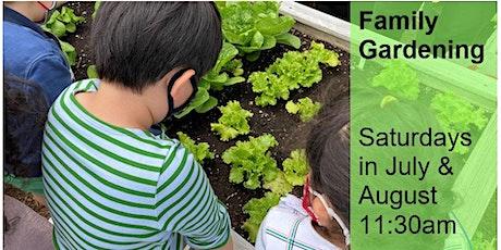 Family Gardening Saturdays tickets