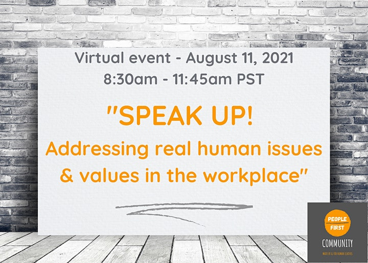 People-First Community Virtual Summit - August 11, 2021 image