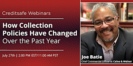 Webinar: How Collection Policies Have Changed Over the Past Year tickets