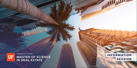 UF Master of Science in Real Estate (MSRE) Information Session tickets
