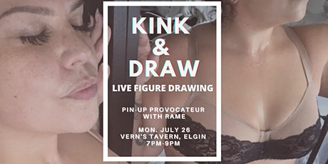 JULY 26 Kink&Draw: Pin-up Provacateur tickets