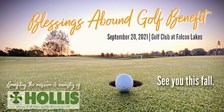 BLESSINGS ABOUND GOLF BENEFIT - 2021 tickets