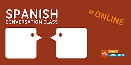 Spanish Conversation Class tickets