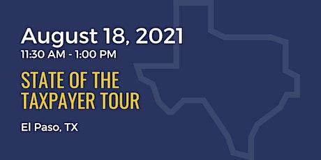 State of the Taxpayer Tour: El Paso boletos