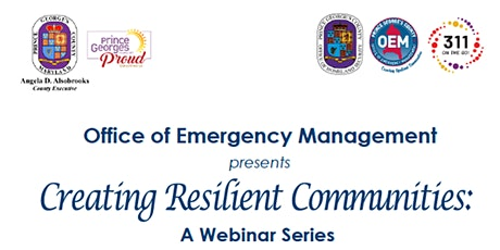 Creating Resilient Communities:  A Webinar Series tickets