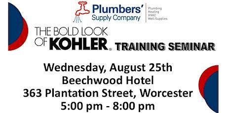 Kohler Training Seminar tickets
