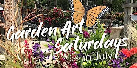 Garden Art Saturdays in July tickets