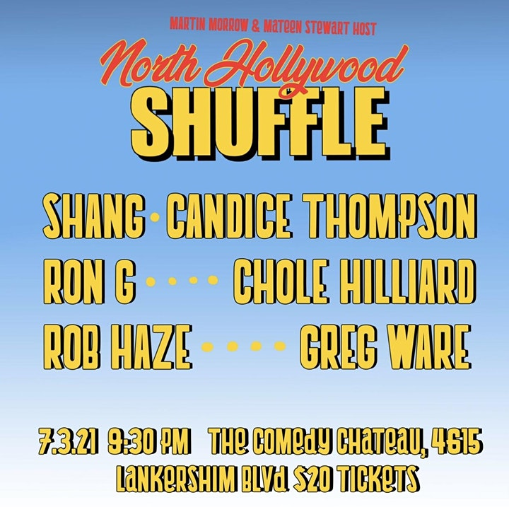 North Hollywood Shuffle Comedy Show image