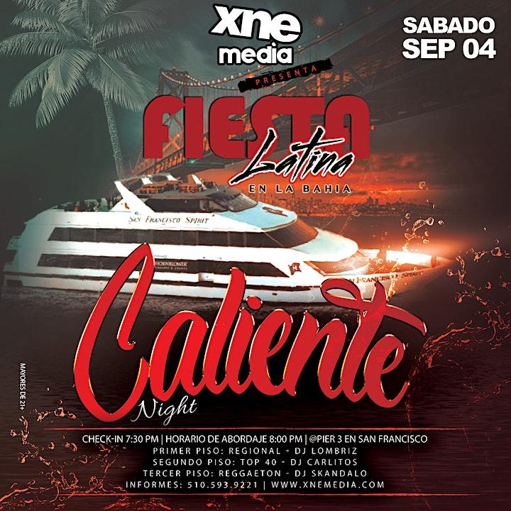 Fiesta Latina En La Bahía   Caliente Night image