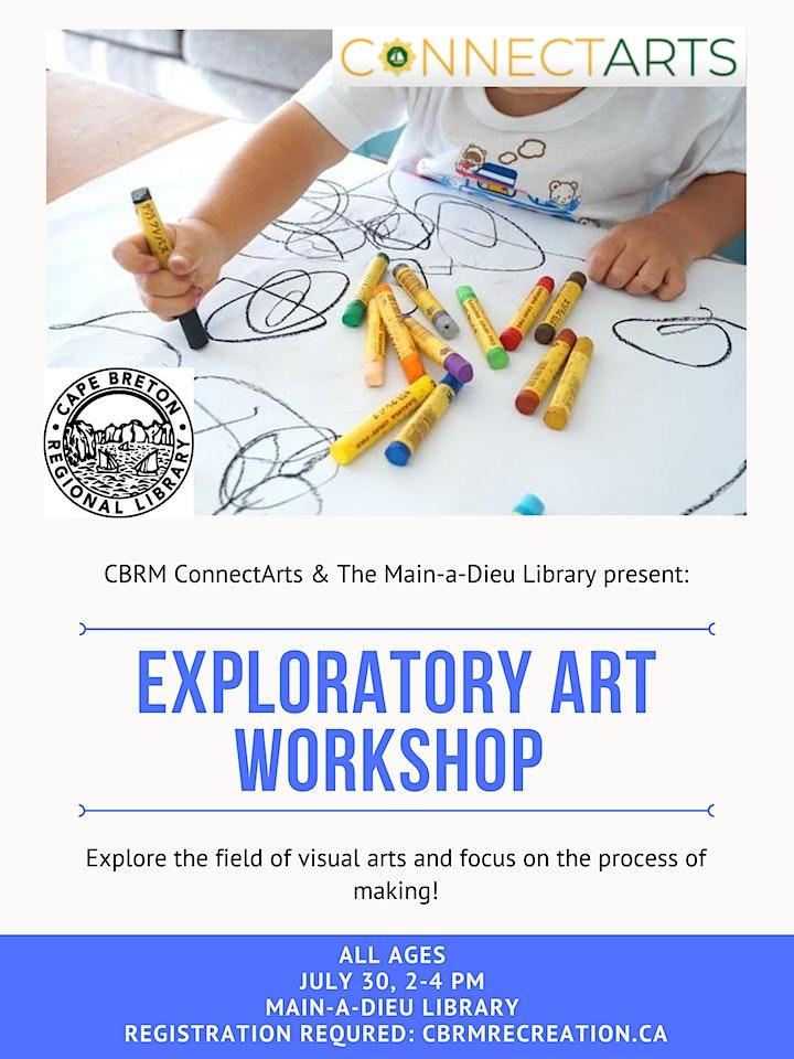 Exploratory Art Workshop (All Ages) image