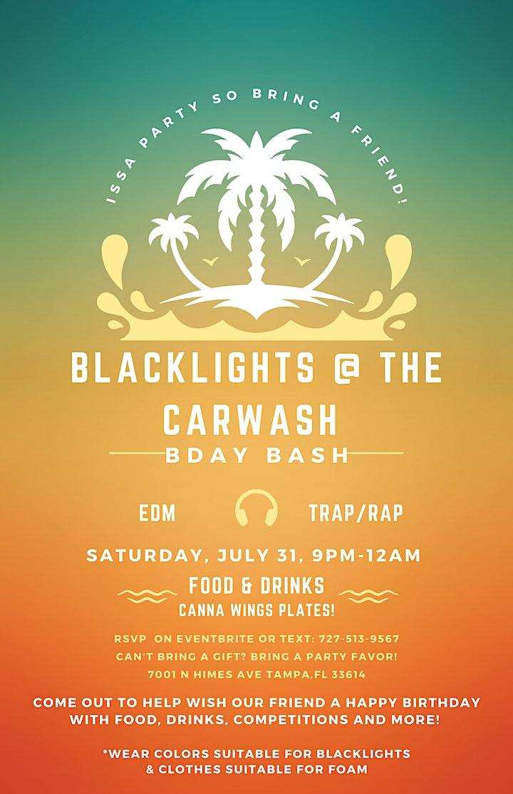 BLACKLIGHTS @ THE CARWASH image