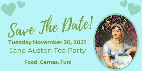 Jane Austen Tea Party tickets