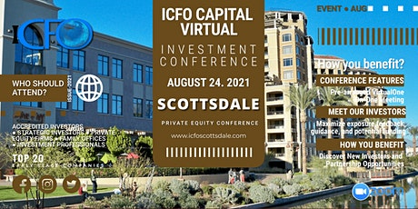 Live Web Event: The iCFO Virtual Investor Conference - Scottsdale tickets