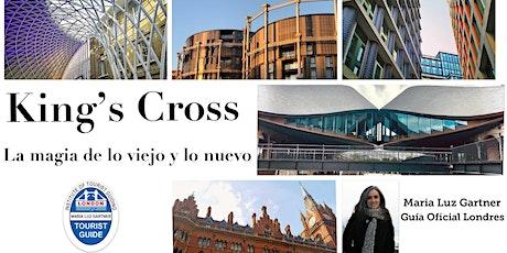 Caminata guiada en español por la zona de King's Cross y  St Pancras. ingressos