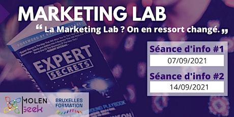 """Deviens marketer digital en 6 mois"" [Séance d'info] Marketing LAB 6! billets"