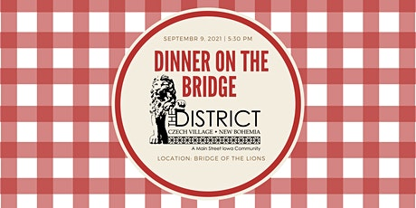 Dinner on the Bridge 2021 tickets