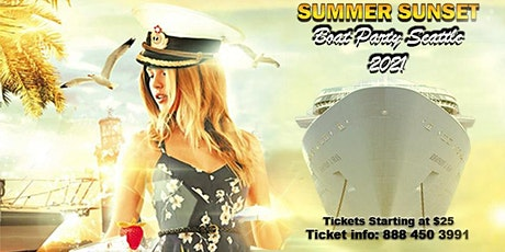 Summer Sunset Boat Party Seattle 2021 tickets