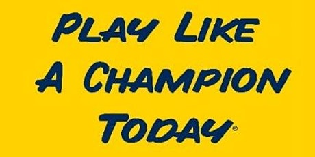 November 6, 2021- Play Like a Champion Today Coaches Clinic tickets