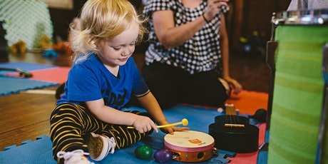Kiddyrock Music & Play Class for Under 3's tickets