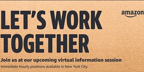 Amazon Virtual Informational Session tickets