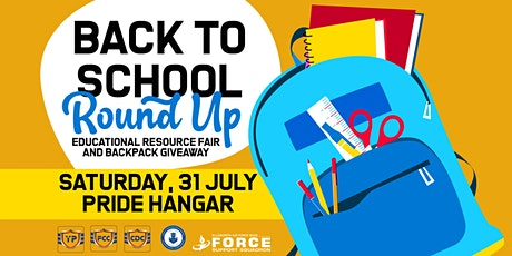 EAFB - Back to School Roundup tickets