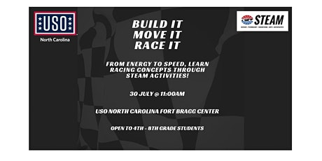(Fort Bragg) USO North Carolina STEAM Day tickets