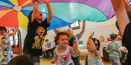 Kiddyrock Music & Play Class for ages 3+ tickets