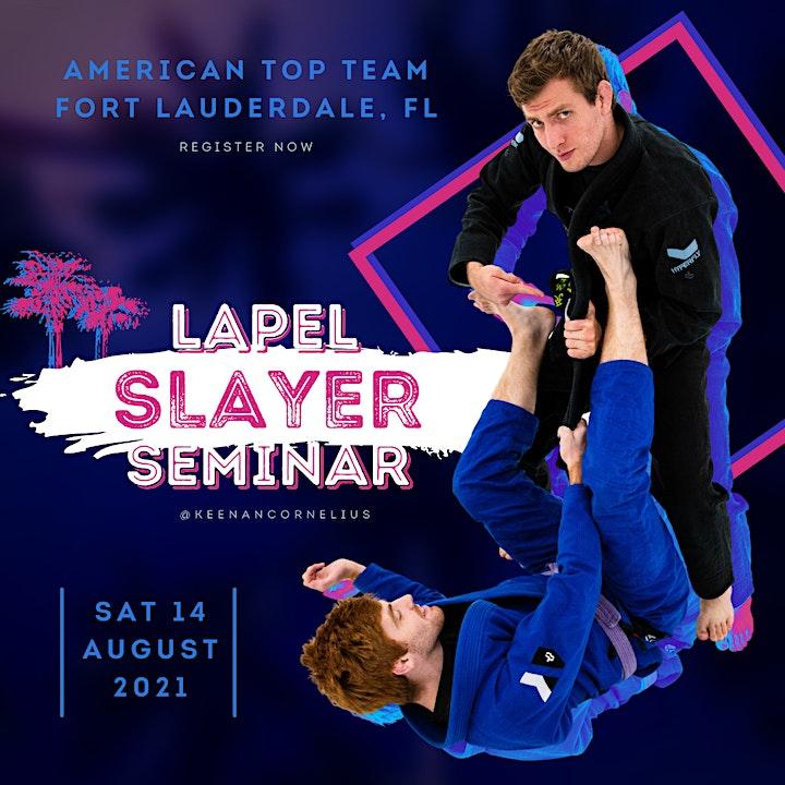 Keenan Cornelius Seminar | American Top Team | Fort Lauderdale, FL image