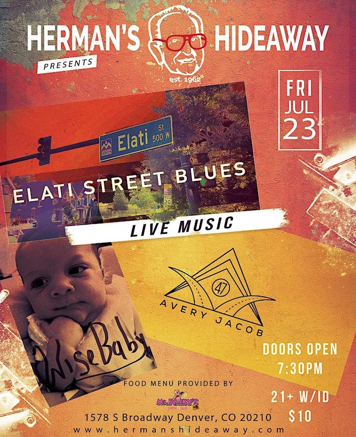 ELATI STREET BLUES, AVERY JACOB, WISE BABY image
