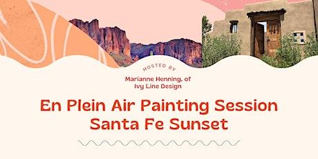 VIRTUAL En Plein Air  Watercolor Session- New Mexico Canyon Landscape tickets